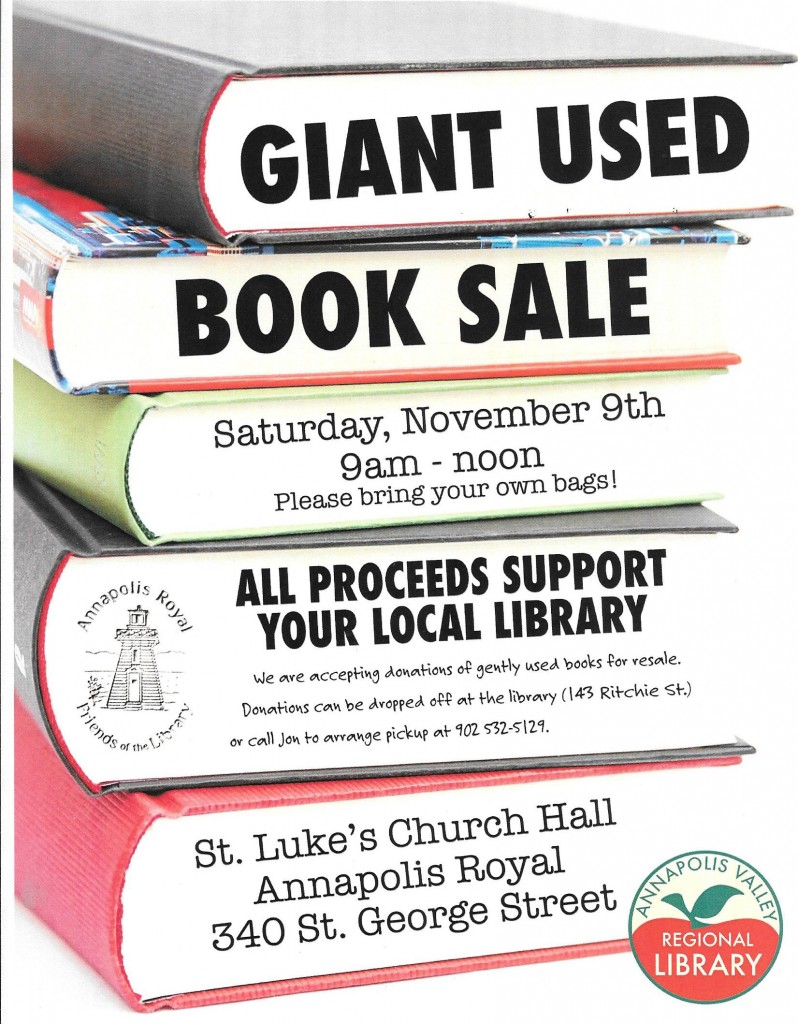 2019 book sale poster